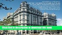 Books New York s Fabulous Luxury Apartments: with Original Floor Plans from the Dakota, River