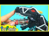 PowerRangers trainForce black Dark Dino Charge Dinosaur cell❤TOYFAMILY PLAY TOYS