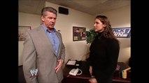 Stephanie McMahon & Vince McMahon Backstage SmackDown 01.30.2003 (HD)