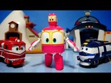 로봇트레인 샐리 변신기차 로봇 장난감 동영상 Robot Trains Selly