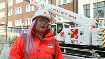 Crossrail Apprentices: Katie Kelleher, Lifting Technician at Tottenham Court Road station