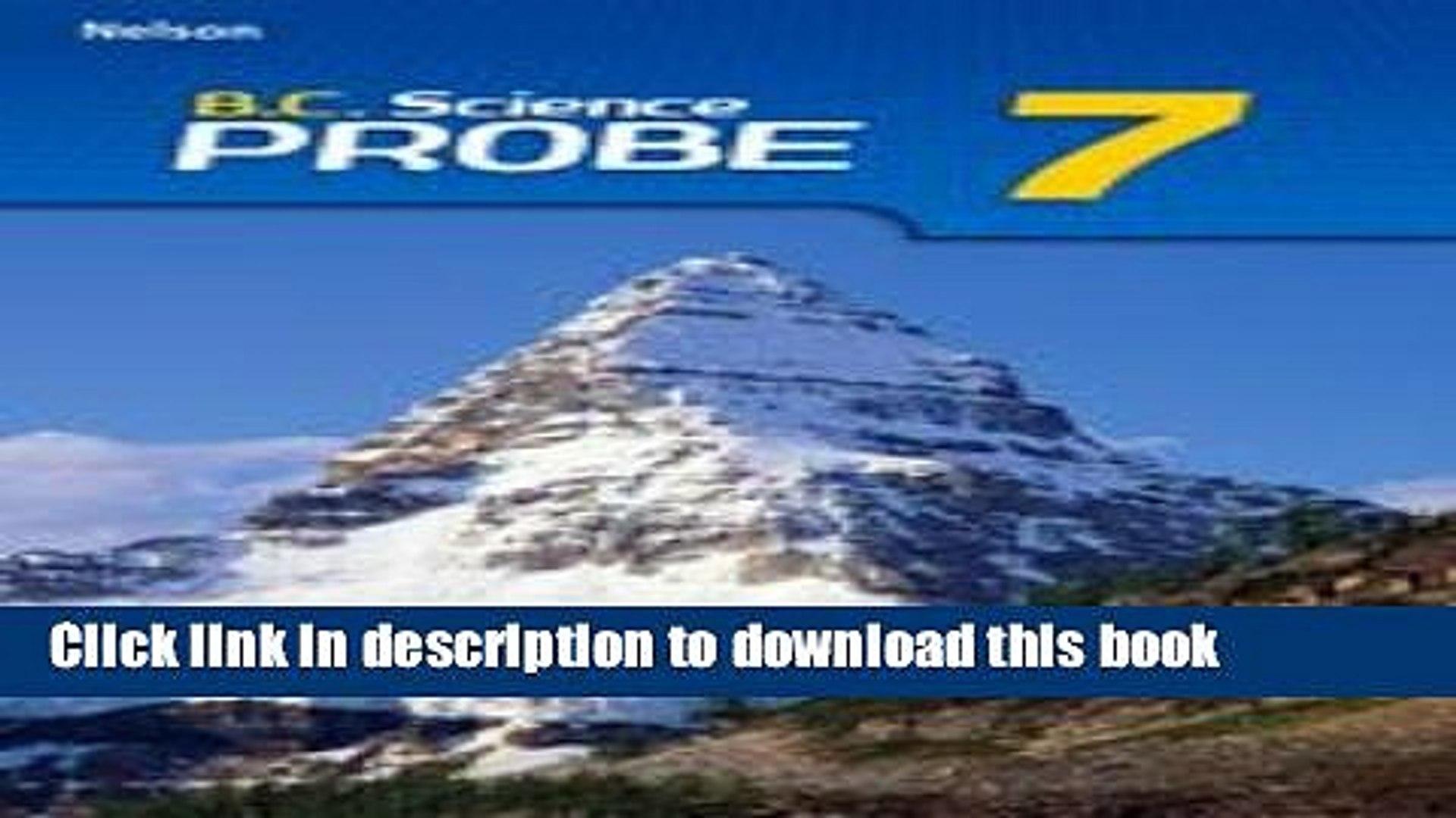 Books B.C. (British Columbia) Science Probe 7 Free Online