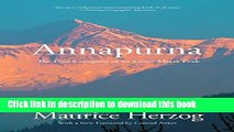 Ebook Annapurna: The First Conquest Of An 8,000-Meter Peak Full Online