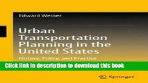 PDF] The Making of Urban America  A History of City Planning