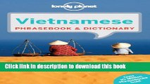 Books Lonely Planet Vietnamese Phrasebook   Dictionary 6th Ed.: 6th Edition Full Online