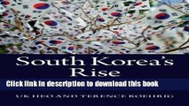 Ebook South Korea s Rise: Economic Development, Power, and Foreign Relations Full Online