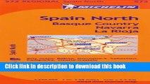 Ebook Michelin Spain: North, Basque Country, Navarra, La Rioja / Espagne: Nord, Pays basque,