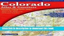 Books Colorado Atlas and Gazetteer Full Online