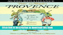 Books Peter Mayle s Provence: Included A Year In Provence and Toujours Provence Free Online