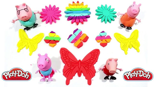 Fun Play Doh Flower Face with Winnie the Pooh Cookie Cutters - Fun and Creative for Children