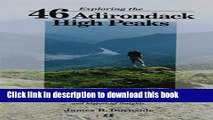 Books Exploring the 46 Adirondack High Peaks: With 282 Photos, Maps   Mountain Profiles, Excerpts