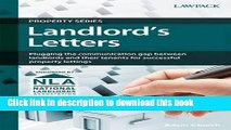 Books Landlord s Letters: Plugging the Communication Gap Between Landlords and Their Tenants for