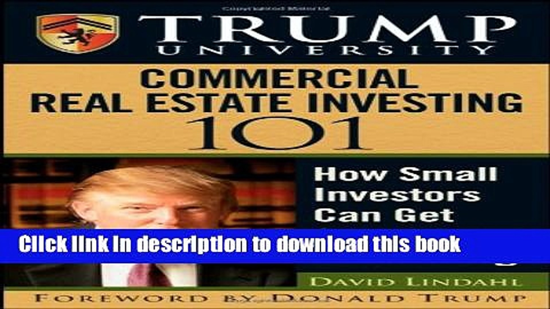 Ebook Trump University Commercial Real Estate 101: How Small Investors Can Get Started and Make It