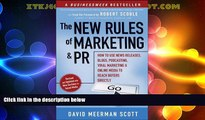 Must Have  The New Rules of Marketing and PR: How to Use News Releases, Blogs, Podcasting, Viral