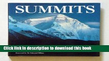 Ebook Summits: Climbing the Seven Summits Solo Full Online