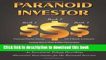 Books Paranoid Investor: An investment trilogy describing alternative investments for the paranoid