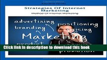 Ebook Strategies of Internet Marketing: Method of Internet Marketing Free Online