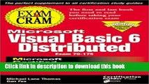Ebook MCSD Visual Basic 6 Distributed Exam Cram: Exam 70-175 Full Online