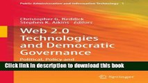 Ebook Web 2.0 Technologies and Democratic Governance: Political, Policy and Management