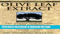 Ebook Olive Leaf Extract Full Online