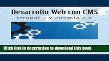 Books Desarrollo Web con CMS: Drupal 7 y Joomla 2.5 Full Online