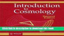 Ebook Introduction to Cosmology Full Online
