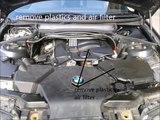 BMW 316 318 ti Mass Air flow meter testing and cleaning MAF sensor