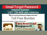 Reset Gmail Password by Gmail Expert @1-877-729-6626-Toll Free
