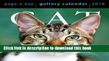 Books Cat Page-A-Day Gallery Calendar 2016 Free Online