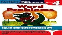Books Word Problems Grade 4 (Kumon Math Workbooks) Full Download