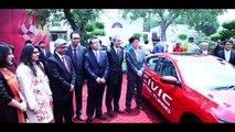 Honda Civic 2016 On Lahore Roads