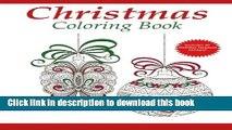 Ebook Christmas Coloring Book: A Holiday Coloring Book for Adults (Adult Coloring Books) (Volume