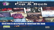 Read Ultimate Pop   Rock Instrumental Solos: Flute, Book   CD (Ultimate Pop Instrumental Solos