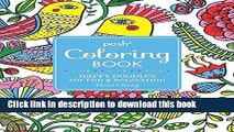 Ebook Posh Adult Coloring Book: Happy Doodles for Fun   Relaxation: Flora Chang (Posh Coloring