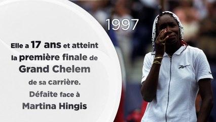 Venus Williams, ses grandes dates