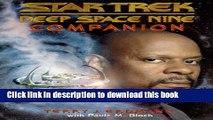 Download Deep Space Nine Companion (Star Trek Deep Space Nine) Ebook Free