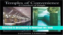 Ebook Temples Of Convenience   Chambers Of Delight Free Download