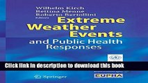 PDF  Extreme Weather Events and Public Health Responses  Online