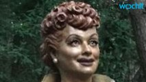 """New Lucille Ball Statue Replaces """"Scary Lucy"""""""