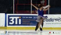 Carolane Soucisse / Shane Firus 2016 Championnats québécois d'été - SD