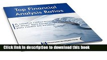 Top Financial Analysis Ratios: A useful reference guide of over 60 financial ratios you need to