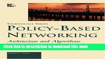 Ebook Policy-Based Networking: Architecture and Algorithms Free Online