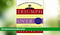 Big Deals  Triumph Over Shyness: Conquering Shyness   Social Anxiety  Free Full Read Best Seller