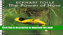 Books Power of Now by Eckhart Tolle 2015 Engagement Calendar Full Download