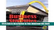[Reading] BUSINESS STATISTICS, A Decision-Making Approach (Instructor Solutions Manual) - 7th