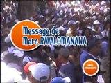 Message de Marc RAVALOMANANA, le 29 mars 2009