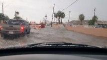 Inondations impressionnantes à Poenix en Arizona