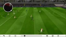 bicycle kick and goal in dream league soccer 2016!! unbelievable goal