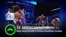 Sasha Banks slides on WWE Power Rankings 2016
