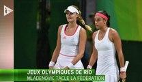 Clash à Rio : Kristina Mladenovic règle ses comptes avec la Fédération française de tennis